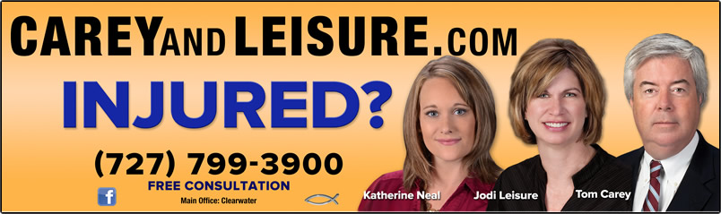 Injured?  Call Carey and Leisure for a free consultation